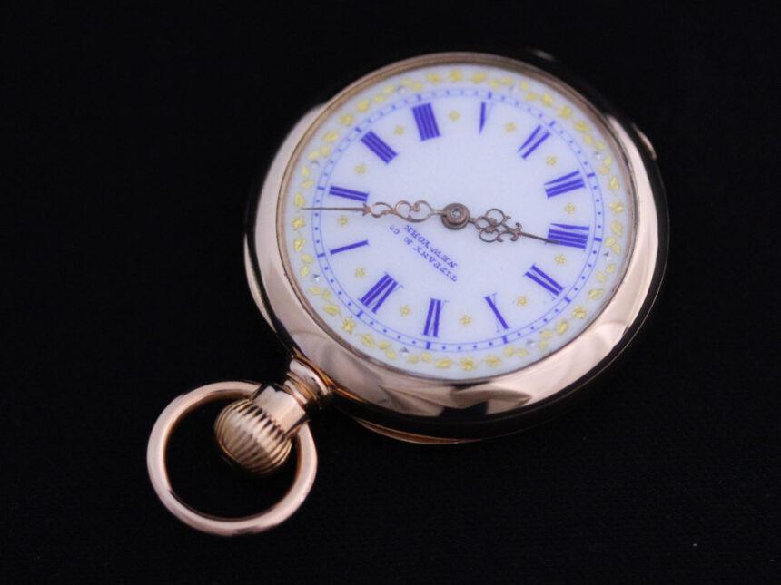 ティファニーのアンティーク懐中時計-P2211-10