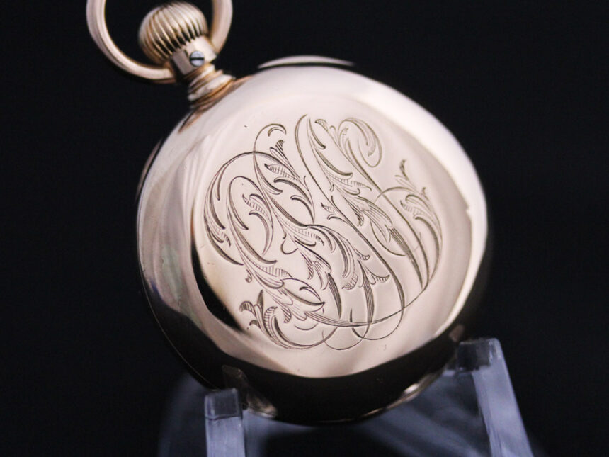 ティファニーのアンティーク懐中時計-P2211-13