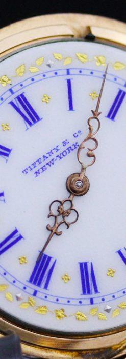 ティファニーのアンティーク懐中時計-P2211-15