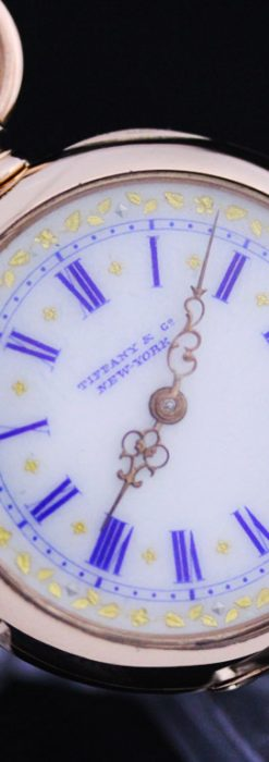 ティファニーのアンティーク懐中時計-P2211-16