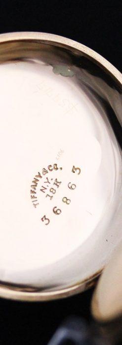 ティファニーのアンティーク懐中時計-P2211-17