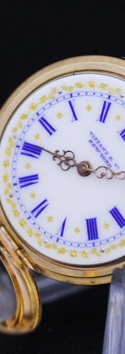 ティファニーのアンティーク懐中時計-P2211-18