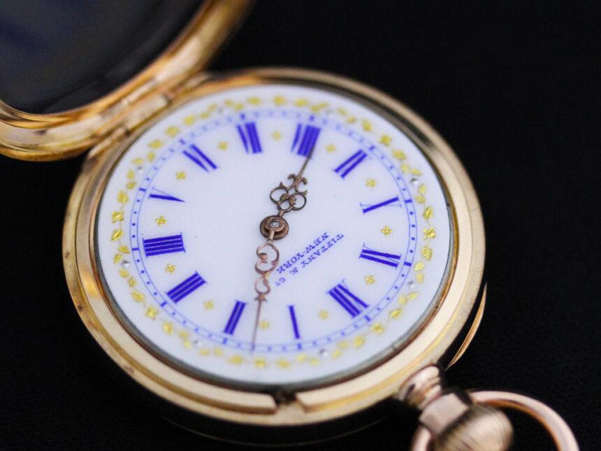ティファニーのアンティーク懐中時計-P2211-19