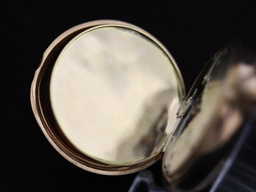 ティファニーのアンティーク懐中時計-P2211-22