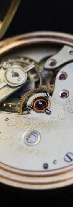 ティファニーのアンティーク懐中時計-P2211-23