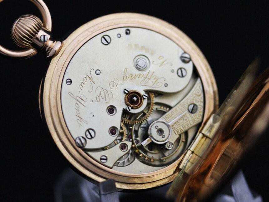 ティファニーのアンティーク懐中時計-P2211-24