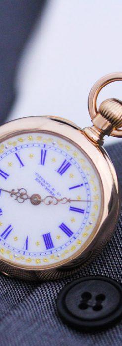 ティファニーのアンティーク懐中時計-P2211-3