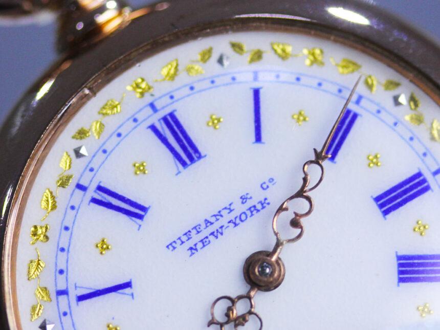 ティファニーのアンティーク懐中時計-P2211-30