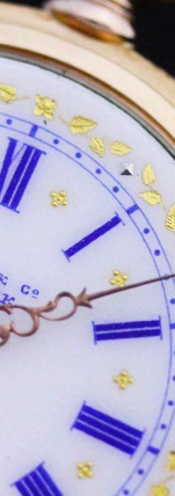ティファニーのアンティーク懐中時計-P2211-32