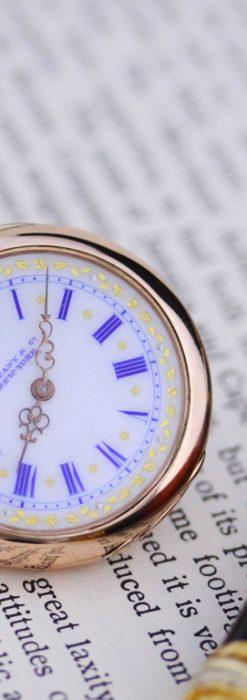 ティファニーのアンティーク懐中時計-P2211-5