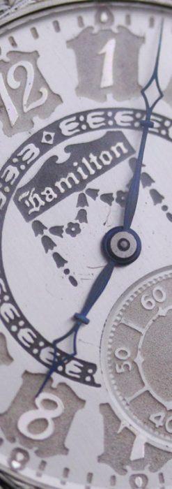 ハミルトンのアンティーク懐中時計-P2212-1