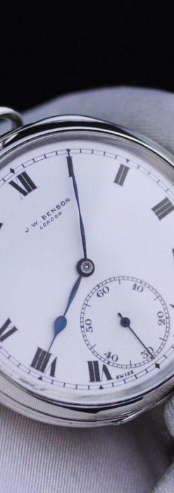 ベンソンのアンティーク懐中時計-P2213-1