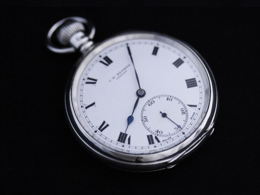 ベンソンのアンティーク懐中時計-P2213-12