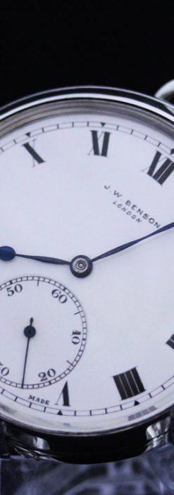 ベンソンのアンティーク懐中時計-P2213-14