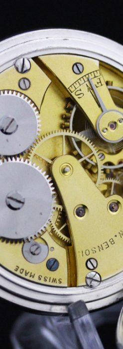 ベンソンのアンティーク懐中時計-P2213-18