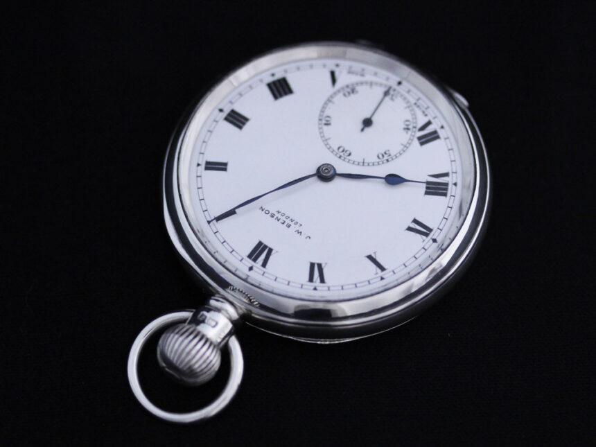 ベンソンのアンティーク懐中時計-P2213-8