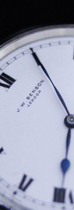 ベンソンのアンティーク懐中時計-P2213-9