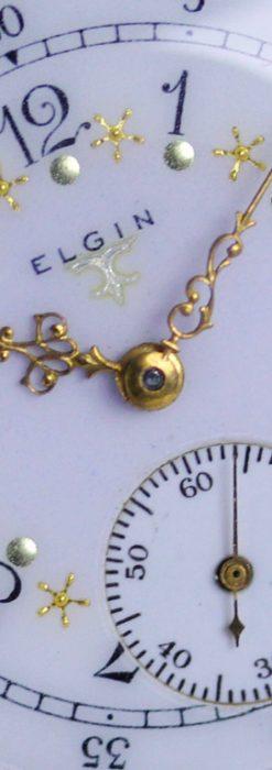 エルジンのアンティーク懐中時計-P2216-1
