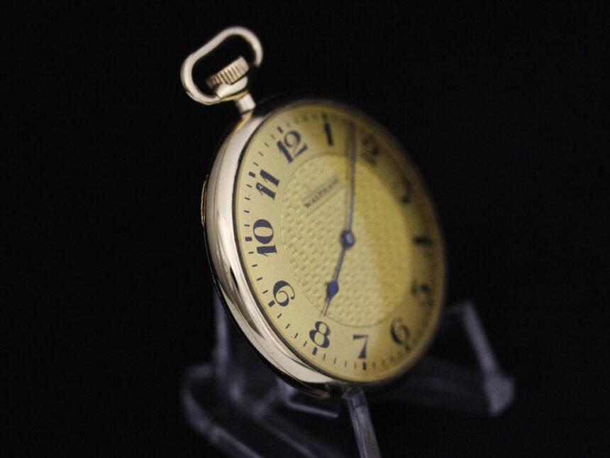 ウォルサムのアンティーク懐中時計-P2218-10