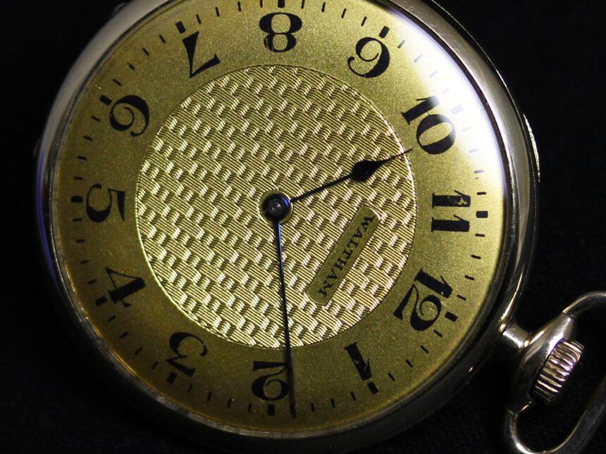 ウォルサムのアンティーク懐中時計-P2218-12
