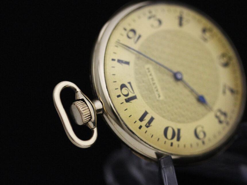 ウォルサムのアンティーク懐中時計-P2218-13