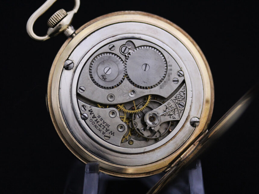 ウォルサムのアンティーク懐中時計-P2218-16