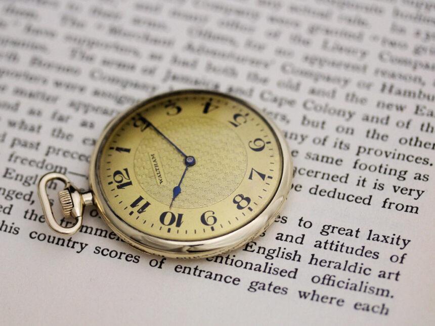 ウォルサムのアンティーク懐中時計-P2218-3
