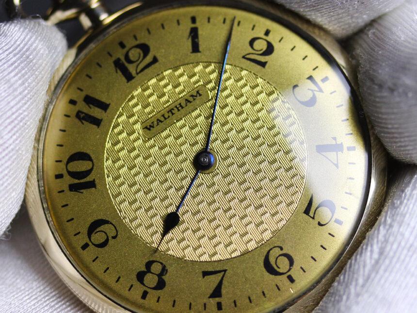 ウォルサムのアンティーク懐中時計-P2218-4