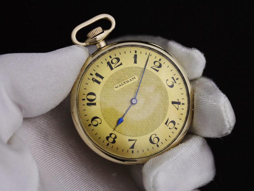 ウォルサムのアンティーク懐中時計-P2218-5