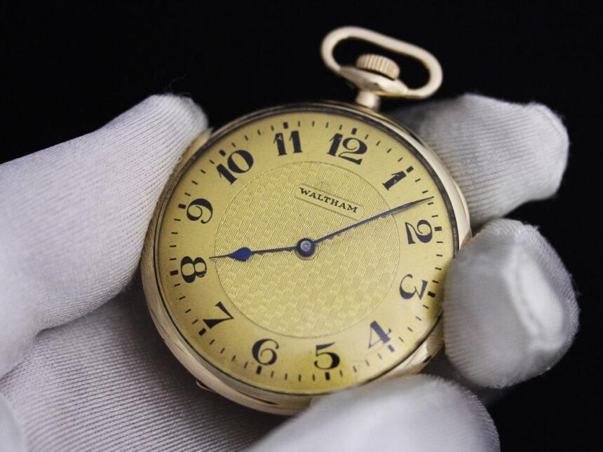 ウォルサムのアンティーク懐中時計-P2218-6