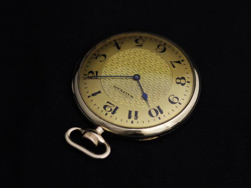 ウォルサムのアンティーク懐中時計-P2218-7