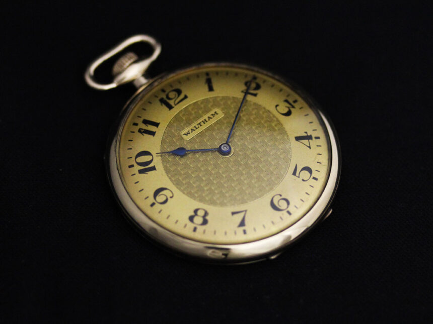 ウォルサムのアンティーク懐中時計-P2218-8