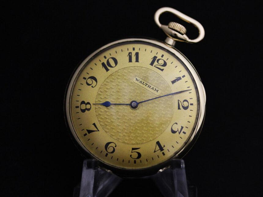 ウォルサムのアンティーク懐中時計-P2218-9