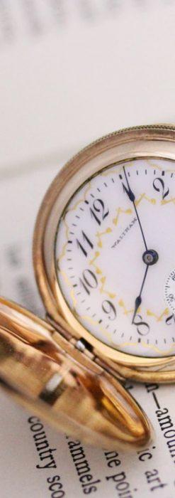 ウォルサムのアンティーク懐中時計-P2220-1