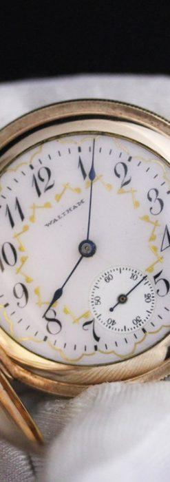 ウォルサムのアンティーク懐中時計-P2220-2
