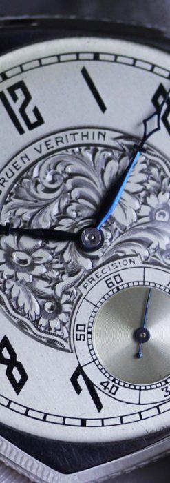 グリュエンのアンティーク懐中時計-P2222-13