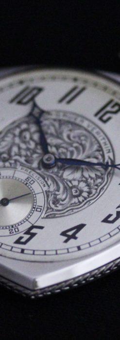 グリュエンのアンティーク懐中時計-P2222-15