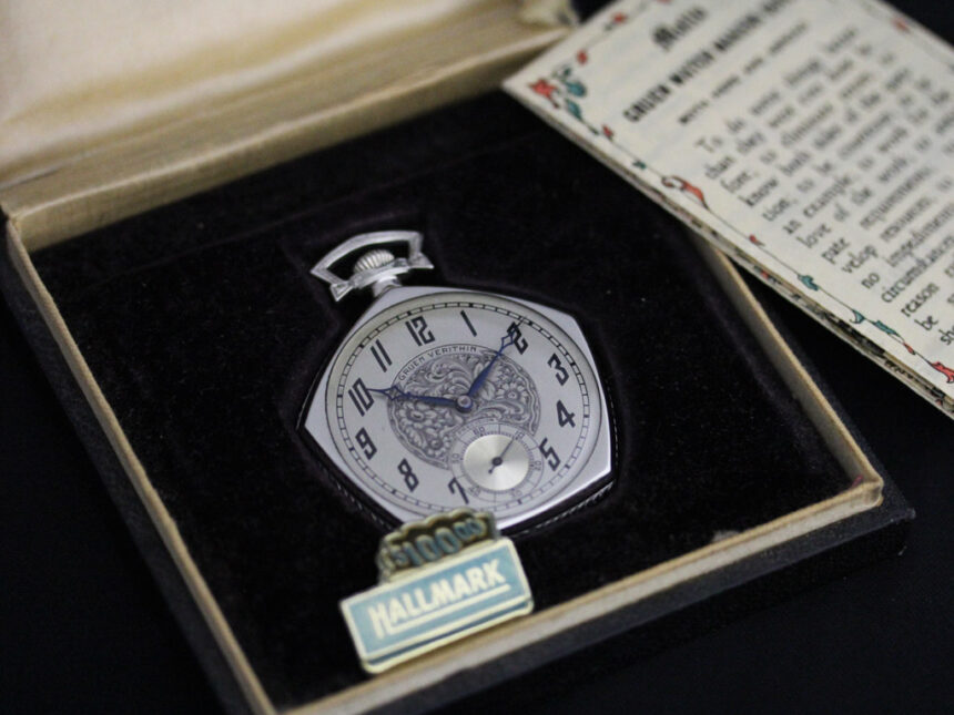 グリュエンのアンティーク懐中時計-P2222-22