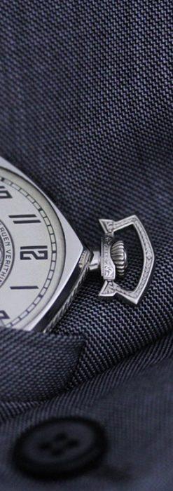 グリュエンのアンティーク懐中時計-P2222-5