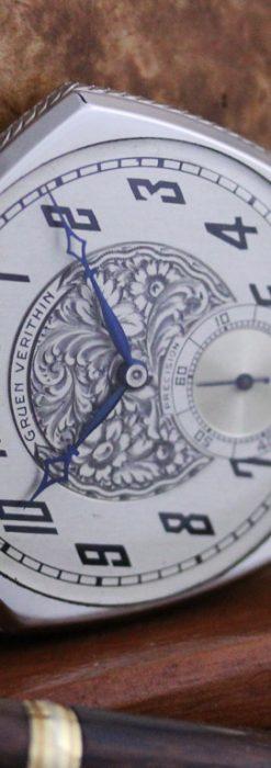 グリュエンのアンティーク懐中時計-P2222-6