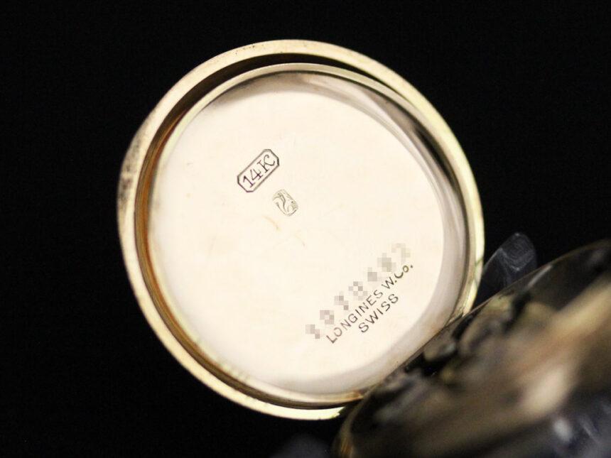 ロンジンのアンティーク懐中時計-P2223-19