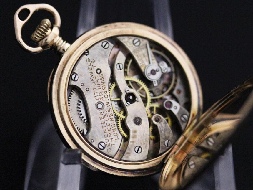 ロンジンのアンティーク懐中時計-P2223-20