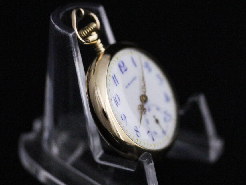 ロンジンのアンティーク懐中時計-P2223-9