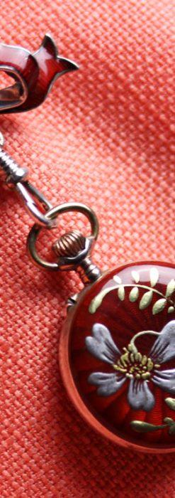 スイスのアンティーク懐中時計-P2224-2