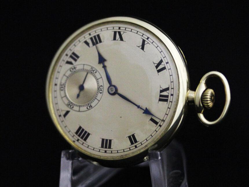 ロンジンのアンティーク懐中時計-P2225-13