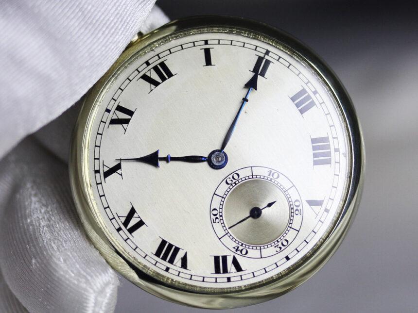 ロンジンのアンティーク懐中時計-P2225-5