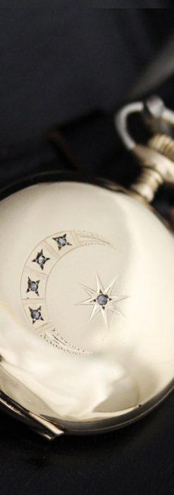 エルジンのアンティーク懐中時計-P2226-1