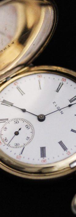 エルジンのアンティーク懐中時計-P2226-10