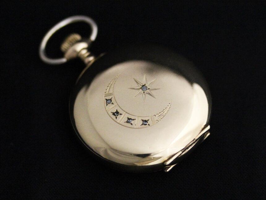 エルジンのアンティーク懐中時計-P2226-11