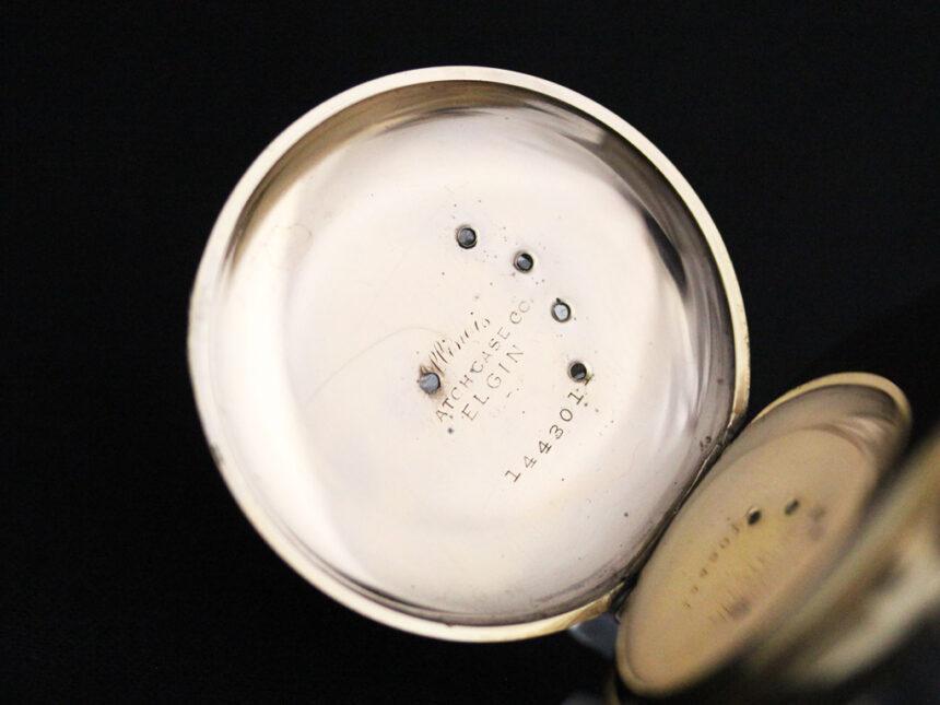 エルジンのアンティーク懐中時計-P2226-16